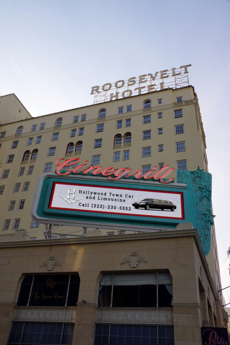 Hotel - Hollywood Town Car and Limousine