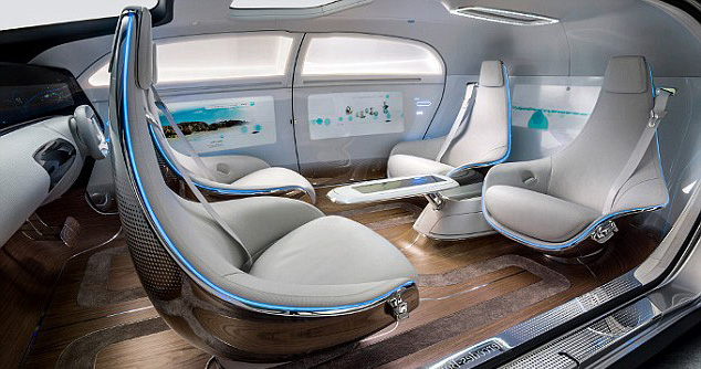 Mercedes Benz Driver-less-Limo